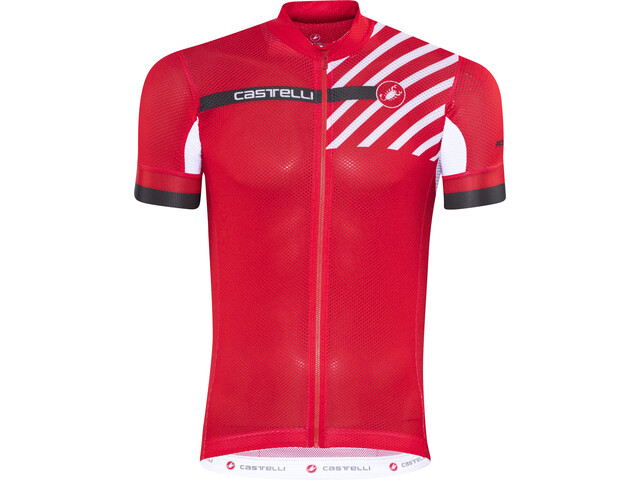 Castelli Free Ar 4.1 Bike Jersey Shortsleeve Men red at Bikester.co.uk 09c1976cd